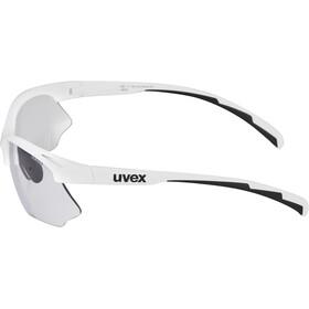 UVEX Sportstyle 802 V Occhiali, white/smoke